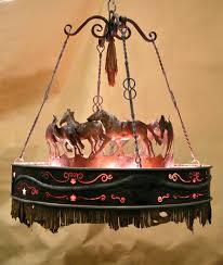running horse chandelier by creations studio
