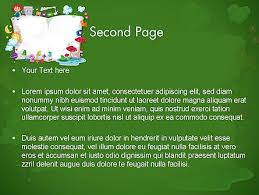 Story Book Powerpoint Template Storybook Powerpoint Template Backgrounds 12491