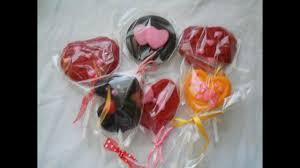 paletas de chocolate un lindo detalle para el día de san valentin
