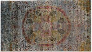3497 kundan collection sari silk rug 440x248cm