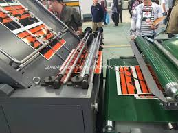 corrugated cardboard making cold laminator vacuum flute laminator machine