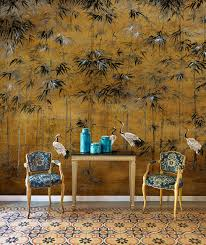 Coordonne Garzas Behang Met Kraanvogels Chinoiserie Luxury By Nature