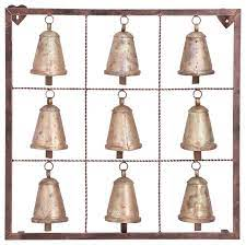 brass metal eclectic wall decor 32 x