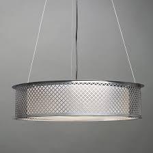 clarus shaded quatrefoil cutout drum pendant by ultralights