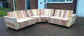good pallet outdoor furniture and wooden pallet patio couch 25 diy pallet furniture ideas