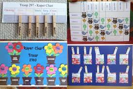 Kaper Chart Simi Valley Girl Scouts