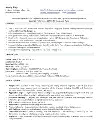 People Soft Consultant Resume Peoplesoft Hrms Resume Sample Oracle Resume Oracle Resume Consulting 18