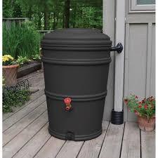 Charcoal Rain Barrel (PRN1023) - Ace Hardware