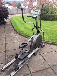 vision fitness x6100 6200 folding elliptical cross trainer