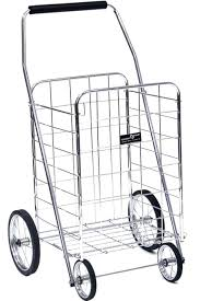 Foldable Rolling Cart Large Capacity Rolling Shopping Bag Trolley