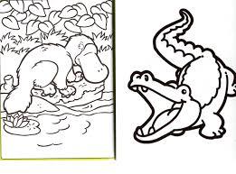 Coloriage Crocodile Imprimer Dessin De Coloriage Crocodile
