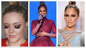 jlo ama s makeup celebrity inspired makeup tutorial lulabella11