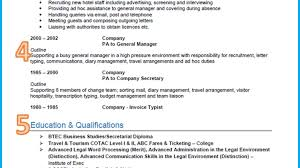 General Resume Examples General Resume Template General Manager
