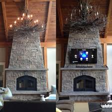 stone fireplace with tv how to mount on stacked stone fireplace find studs behind brick with stone fireplace with tv