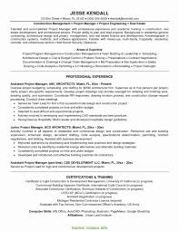 Lead Project Manager Resume Top Lead Project Manager Resume Project Resume Format Elegant 1