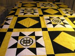 Boston Bruin's quilt top & Name: Attachment-165349.jpe Views: 2500 Size: 53.6 KB Adamdwight.com