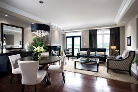 Dining Room And Living Room Interesting Decorating