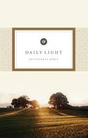 Daily Light Devotional Bible Esv Daily Light Devotional Bible Esv Bibles By Crossway