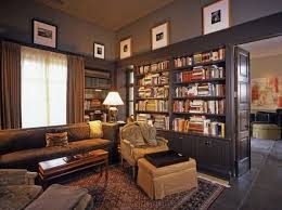 furniture idea to decor small home library adorable home library