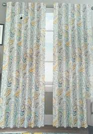 wondrous sheer curtains target yellow and gray coffee
