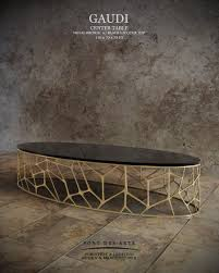 Metal Center Table Design Gaudi Center Table Pont Des Arts Studio Designer Monzer