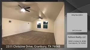 Christine Saunders Design 2511 Christine Drive Granbury Tx 76048