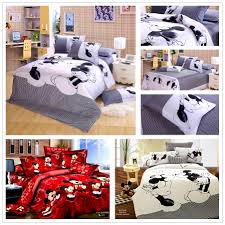 bedroom minnie and mickey bed set amusing minnie mouse comforter