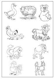 Dessins Gratuits Colorier Coloriage Animaux De Ferme Imprimer