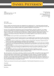 Example Of Executive Cover Letters Cover Letter Examples By Real People Account Executive Cover Letter
