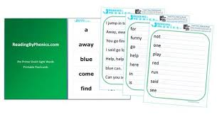 Free Dolch Pre Primer Sight Words Flash Cards Worksheets