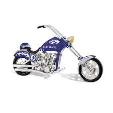 the chelsea fc motorbike danbury mint exclusive