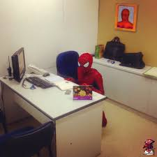 spider man marvel heroes 2016 desk spider verse room furniture desk table