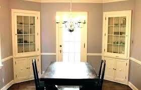 Corner Cabinet Furniture Dining Room Interesting Inspiration Design