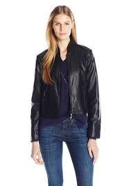 a x armani exchange women s eco leather jacket