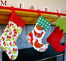 sew christmas stocking.  Christmas Christmas Stocking  For Sew M