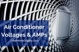 Ac Compressor Amperage Chart All About Air Conditioner Amps And Voltage A Guide