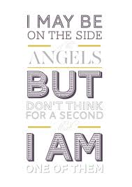 Sherlock One Of The Angels Poster By Funkyfinky Via Etsy I Live
