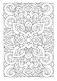 Coloring Pages Ring Pages Ring Pages Geometric Pattern Coloring