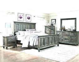 Delightful Rustic Bedroom Furniture Sets Distressed White Modern ...