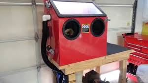 Sand Blasting Cabinets Harbor Freight Blast Cabinet Best Mods Youtube