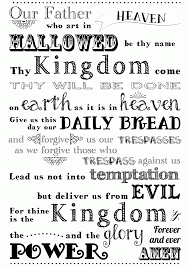 6 Pics Of Lords Prayer Coloring Pages Printable Lords Prayer