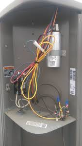 hvac compressor fan stays off when cooling turned on home Hvac Contactor To Compressor Wiring Diagram compressor compressor info Contactor Coil Wiring Diagram