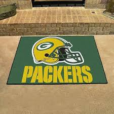 green bay packers all star area rug mat great for the man cave