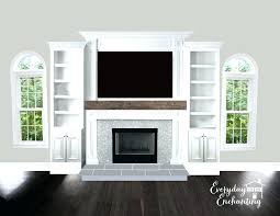bookshelves next to fireplace ideas bookcases around fireplace fireplace with built ins on one side built