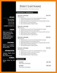 Free Resume Downloads Delectable Free Cv Formatfree Resume Downloads In Word Format Cv Word Format