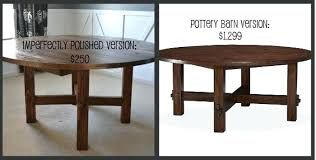 diy round dining table round wood table tutorial on farm house table plans inspirational solemn rustic