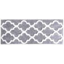 black bathroom mats trellis black and gray bathroom rug