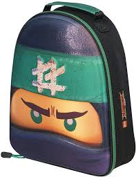 LEGO Ninjago School Lunch Bag Film 3D Ninjago Kai Bag Little Ninja Lover:  Amazon.de: Bekleidung