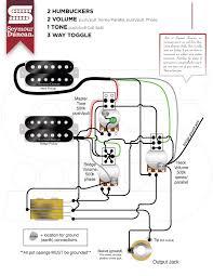 wiring diagram humbucker volume tone wiring wiring diagram 2 humbuckers 2 volume 2 tone 3 way switch wirdig on wiring diagram 2