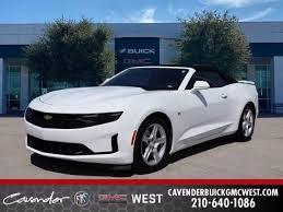 Used Summit White 2020 Chevrolet Camaro Car For Sale In San Antonio Tx Cavender Buick Gmc West 4p1573